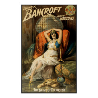 Frederick Bancroft - The Magician Poster