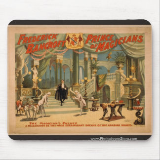 Frederick Bancroft, 'The Magician's Palace' Mouse Pad