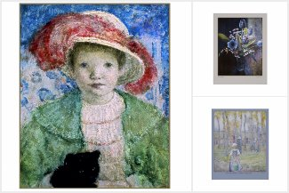 Frederick Carl Frieseke Paintings and Drawings
