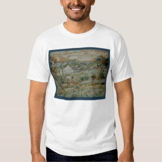 "Frederick Carl Frieseke ""The Gardener"" Landscape Shirt"
