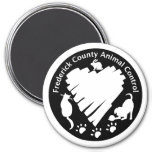 Frederick County Animal Control Fridge Magnets