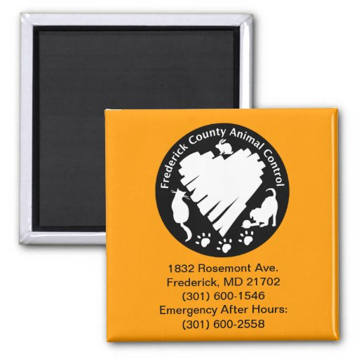 Frederick County Animal Control Magnets