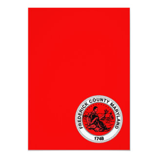 Frederick County seal Card
