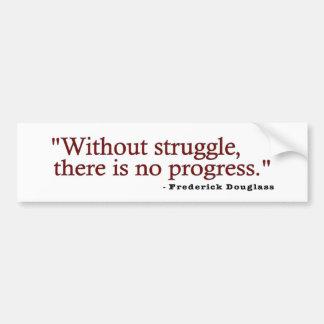 Frederick Douglas Quote Bumper Sticker