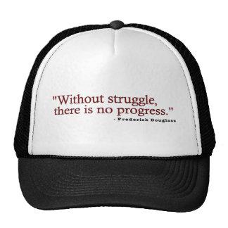 Frederick Douglas Quote Trucker Hat