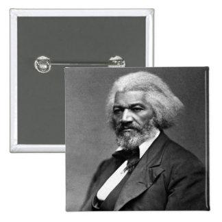 Frederick Douglass African American Civil Rights 2 Inch Square Button