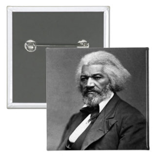 Frederick Douglass African American Civil Rights 2 Inch Square Button