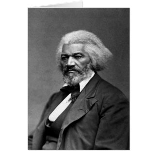 Frederick Douglass African American Civil Rights Card