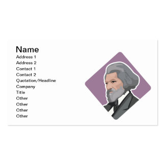 Frederick Douglass Business Card