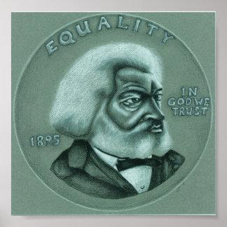 Frederick Douglass - igualdad Póster
