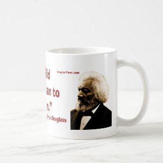 Frederick Douglass on Strong Children Classic White Coffee Mug