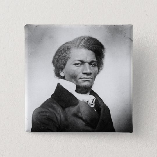 Frederick Douglass Portrait  ~ 1847 Pinback Button