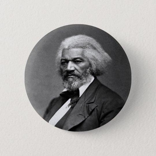 Frederick Douglass Portrait by George K. Warren Button