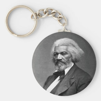 Frederick Douglass Portrait by George K. Warren Keychain