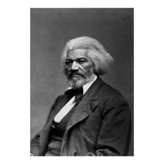 Frederick Douglass Portrait by George K. Warren Poster