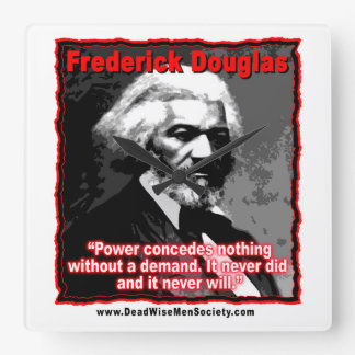 Frederick Douglass Power Concedes Quote