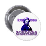 Frederick Douglass Quote: The Measure of Injustice 2 Inch Round Button