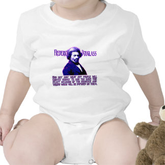 Frederick Douglass Quote The Measure of Injustice Baby Bodysuit