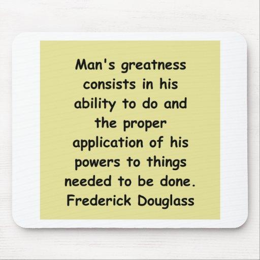 frederick douglass quotes mousepads