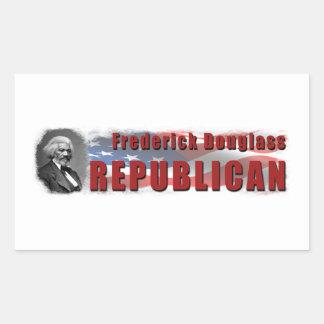 Frederick Douglass Republican Rectangular Sticker