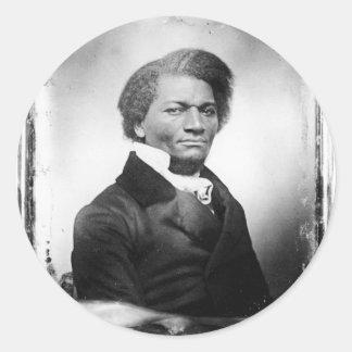Frederick Douglass Classic Round Sticker