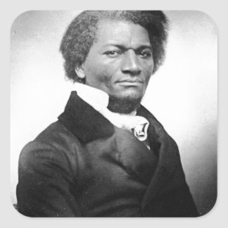 Frederick Douglass Square Sticker