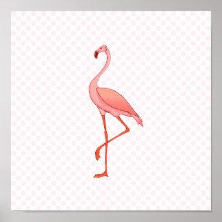Frederick Flamingo Poster