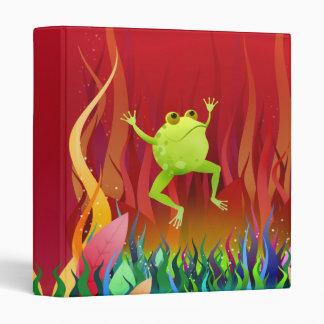Frederick Frog - binder / folder