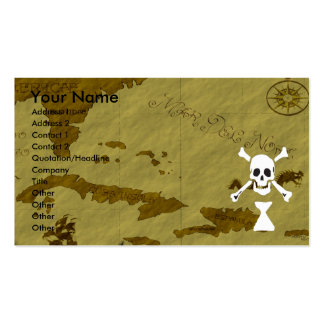 Frederick Gwynne Map #7 Double-Sided Standard Business Cards (Pack Of 100)