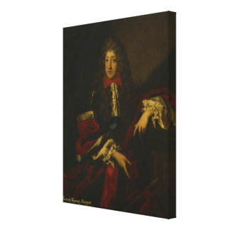 Frederick I, Kurprinz of Brandenburg Canvas Print