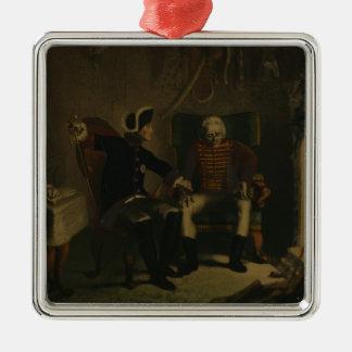 Frederick II and General von Ziethen Metal Ornament