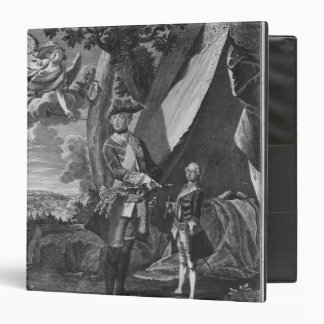 Frederick II  and His Nephew Frederick William 3 Ring Binder