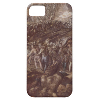 Frederick II conquered Parma in 1521 by Tintoretto iPhone SE/5/5s Case