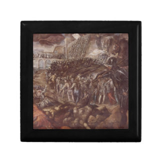Frederick II conquered Parma in 1521 by Tintoretto Jewelry Box