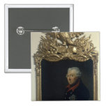Frederick II de Prusia Pin Cuadrado