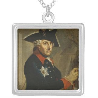 Frederick II el grande de Prusia, 1764 Colgante Cuadrado