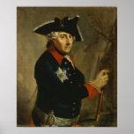 Frederick II el grande de Prusia, 1764 Impresiones