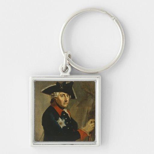 Frederick II el grande de Prusia, 1764 Llaveros