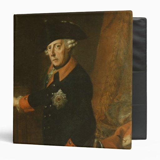 "Frederick II el grande de Prusia, c.1763 Carpeta 1 1/2"""