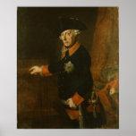 Frederick II el grande de Prusia, c.1763 Póster