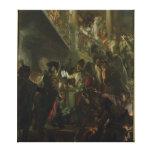Frederick II el grande, en Lissa, Bonsoir Lienzo Envuelto Para Galerías