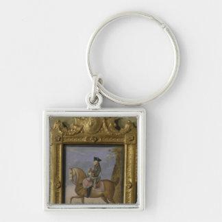 Frederick II on horseback Keychain