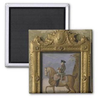Frederick II on horseback Magnet
