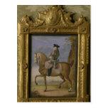 Frederick II on horseback Post Card