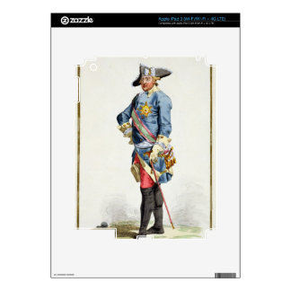 "Frederick II ""the Great"" (1712-86) King of Prussia Skins For iPad 3"