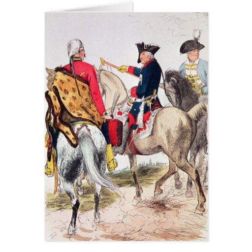 Frederick II  the Great Greeting Cards