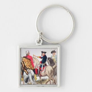 Frederick II  the Great Keychain