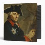 Frederick II the Great of Prussia, 1764 Vinyl Binders