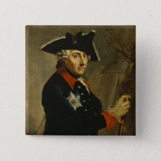 Frederick II the Great of Prussia, 1764 Pinback Button