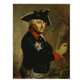 Frederick II the Great of Prussia, 1764 Postcard